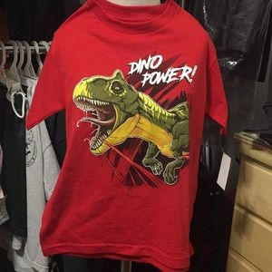 Other - Brand new boys Dino T-shirt -size 5/6